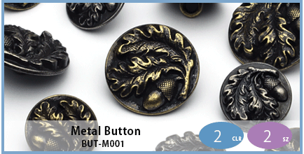 BUT-M001(Metal Button)