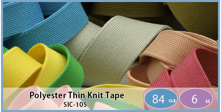 SIC-105(Polyester Thin Knit Tape)