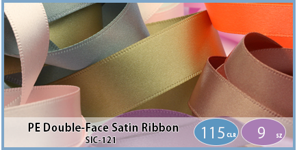 SIC-121(Polyester Double-Face Satin Ribbon)
