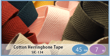 SIC-134(Cotton Herringbone Tape)