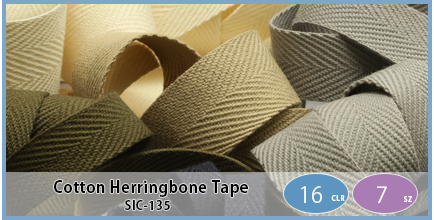 SIC-135(Cotton Herringbone Tape)