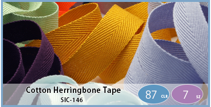 SIC-146(Cotton Herringbone Tape)