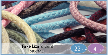 SIC-3010(Fake Lizard Cord)