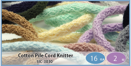 SIC-3030(Cotton Pile Cord Knitter)