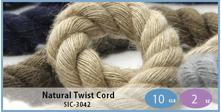 SIC-3042(Natural Twist Cord)