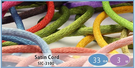SIC-3100(Polyester Satin Cord)