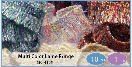 SIC-4105(Multi Color Lame Fringe)