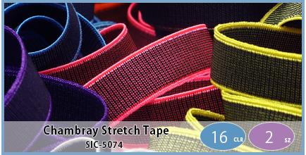 SIC-5074(Chambray Stretch Tape)