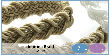 SIC-6037(Trimming Braid)