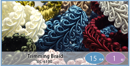 SIC-6100(Trimming Braid)