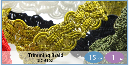 SIC-6102(Trimming Braid)