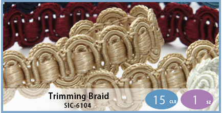 SIC-6104(Trimming Braid)