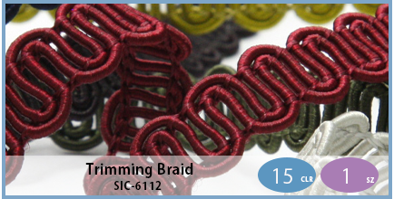 SIC-6112(Trimming Braid)