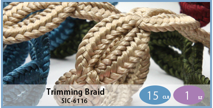 SIC-6116(Trimming Braid)