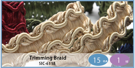 SIC-6118(Trimming Braid)