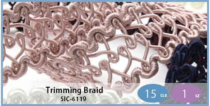 SIC-6119(Trimming Braid)
