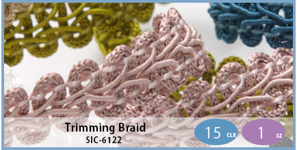 SIC-6122(Trimming Braid)