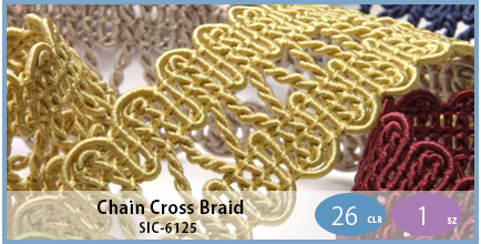 SIC-6125(Chain Cross Braid)