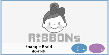 SIC-6148(Spangle Braid)
