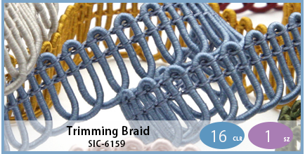SIC-6159(Trimming Braid)