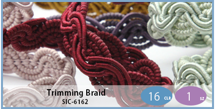 SIC-6162(Trimming Braid)
