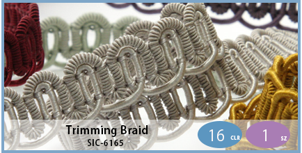 SIC-6165(Trimming Braid)