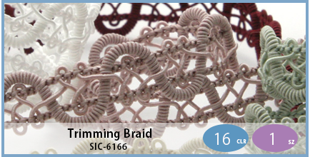 SIC-6166(Trimming Braid)