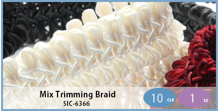 SIC-6366(Mix Trimming Braid)