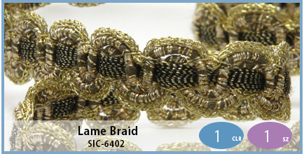SIC-6402(Lame Braid)