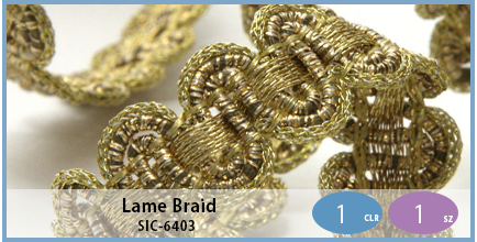 SIC-6403(Lame Braid)