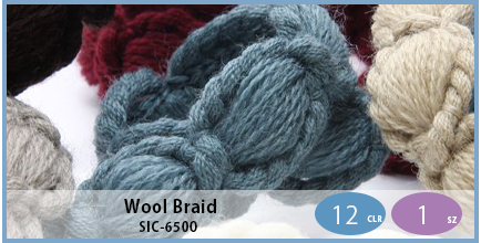 SIC-6500(Wool Braid)