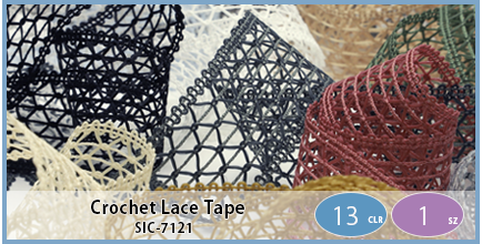 SIC-7121(Crochet Lace Tape)