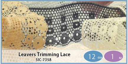 SIC-7358(Leavers Trimming Lace)