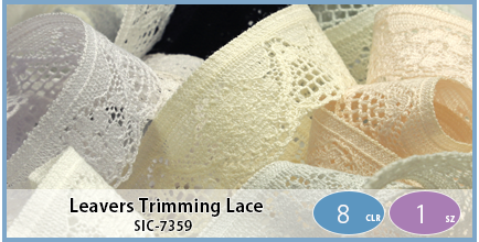 SIC-7359(Leavers Trimming Lace)