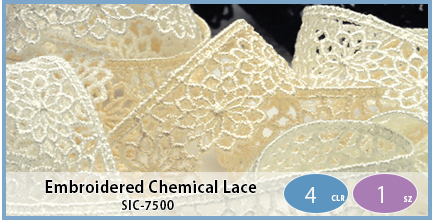 SIC-7500(Embroidered Chemical Lace)