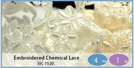 SIC-7520(Embroidered Chemical Lace)
