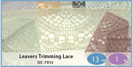 SIC-7915(Leavers Trimming Lace)