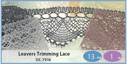 SIC-7916(Leavers Trimming Lace)