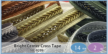 SIC-9209(Bright Center Cross Tape)