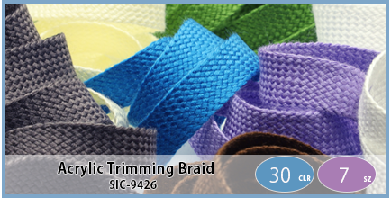 SIC-9426(Acrylic Trimming Braid)