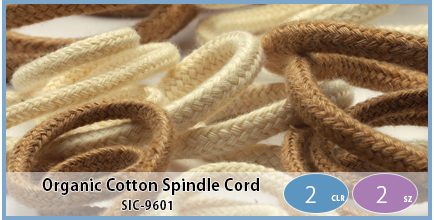 SIC-9601(Organic Cotton Spindle Cord)