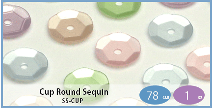 SS-CUP(Cup Round Sequin)