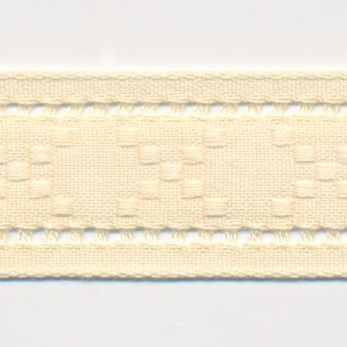 Natural Lacy Ribbon #65