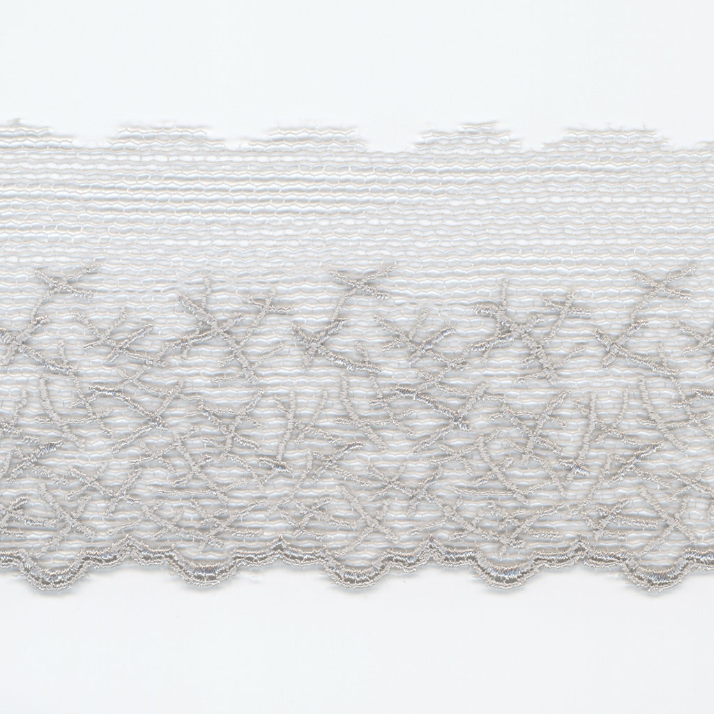 Embroidered Tulle Lace #100