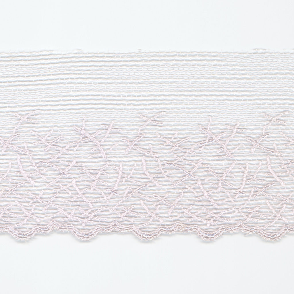 Embroidered Tulle Lace #146