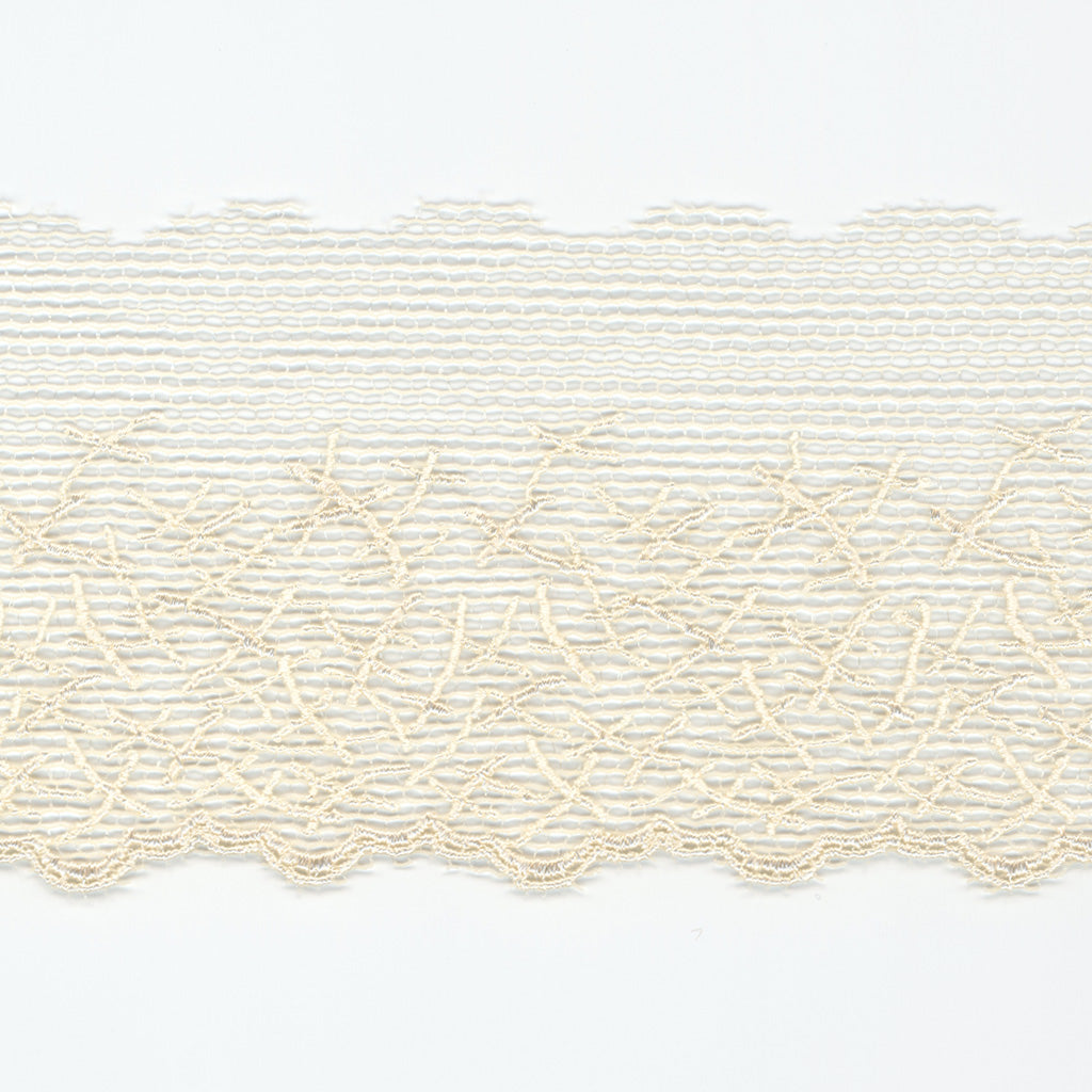 Embroidered Tulle Lace #158