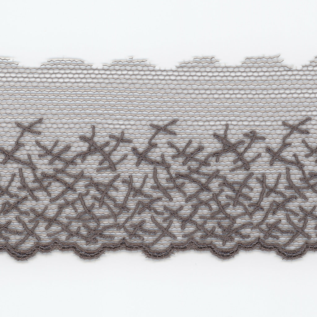 Embroidered Tulle Lace #159