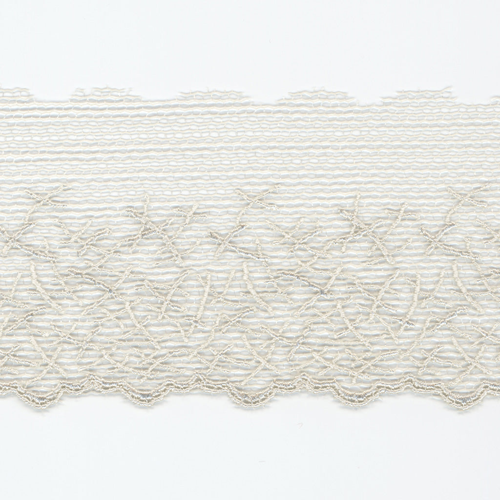 Embroidered Tulle Lace #48