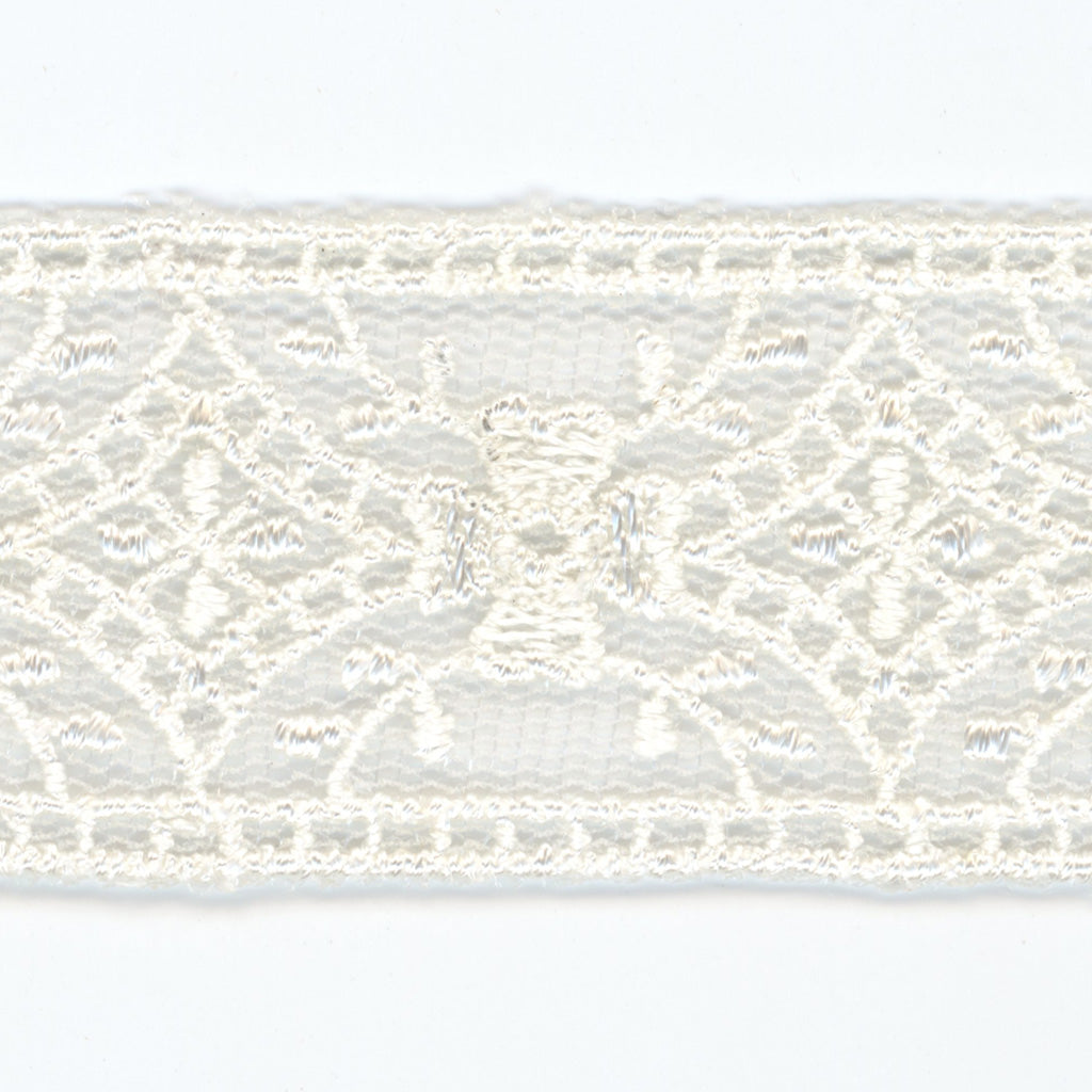 Embroidered Tulle Lace #01