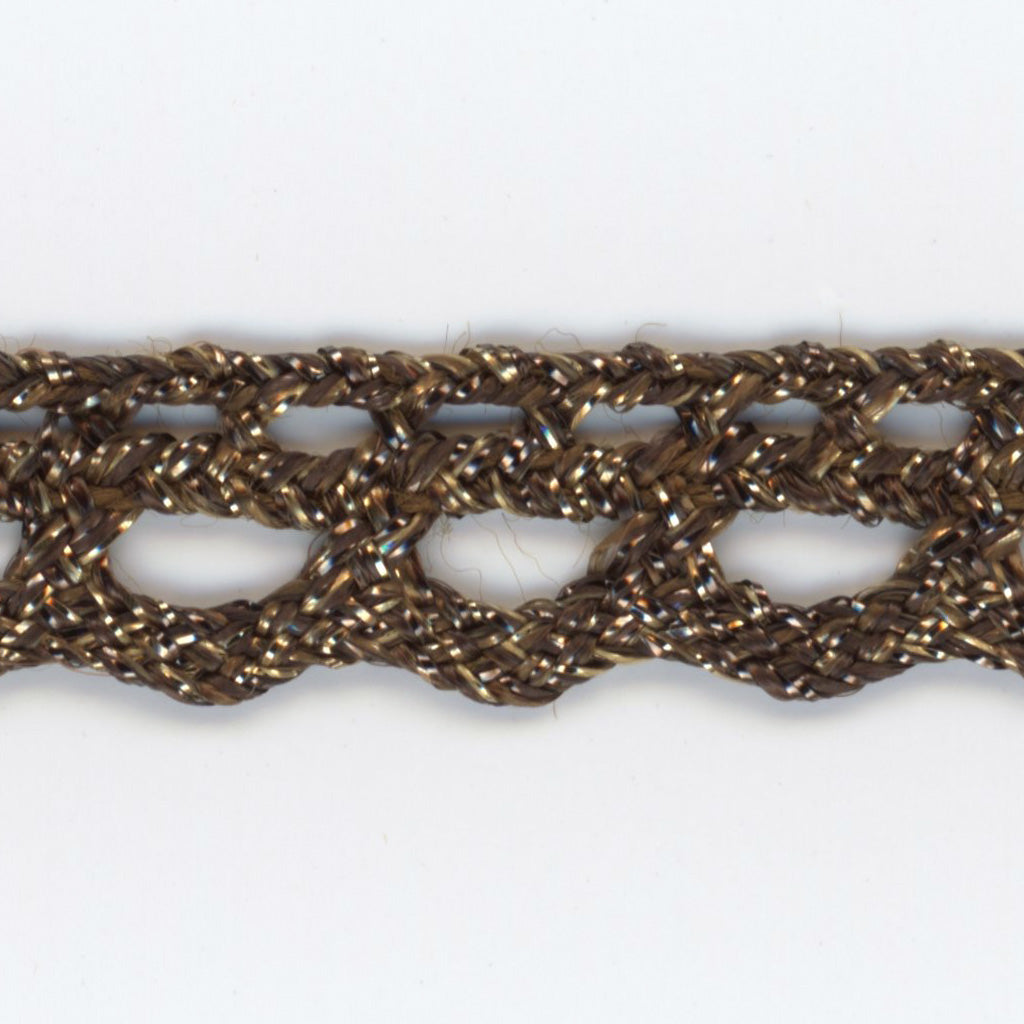 Antique Metallic Trimming Braid #7